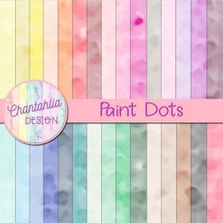 free paint dots digital papers