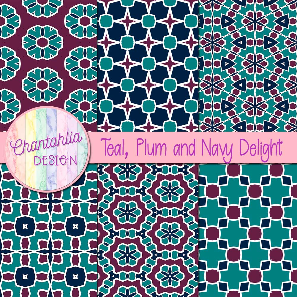 Free digital scrapbook paper pack