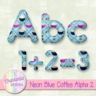 blue coffee alpha