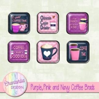 pink coffee brads