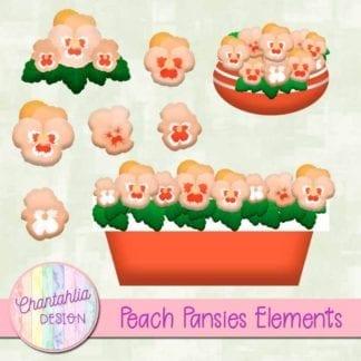 pansies elements