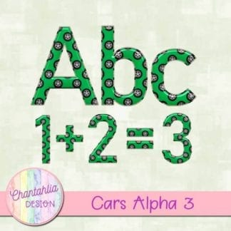 cars alpha with wheels