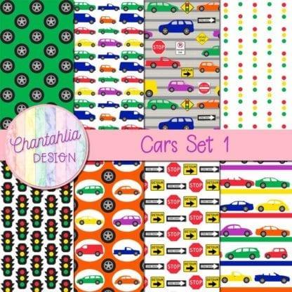 car digtal papers