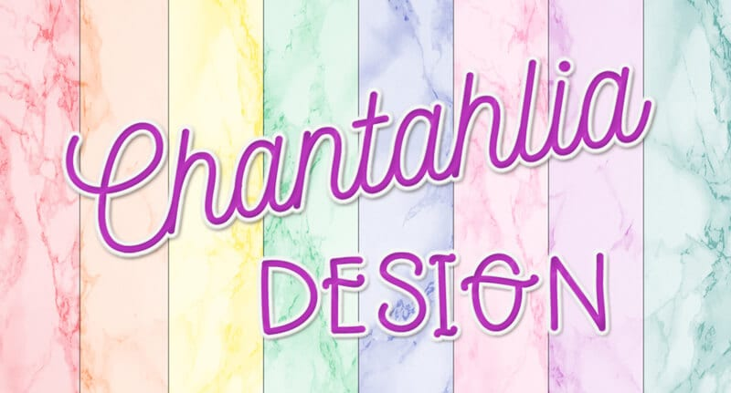 Chantahlia Design logo. Your home of free digital papers, design elements.