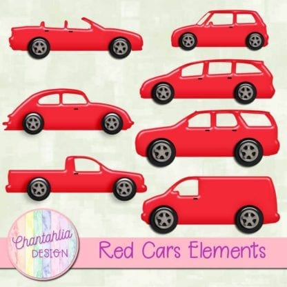 red cars elements