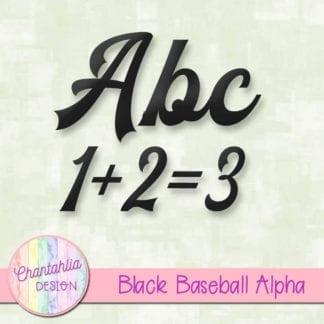 black baseball alpha