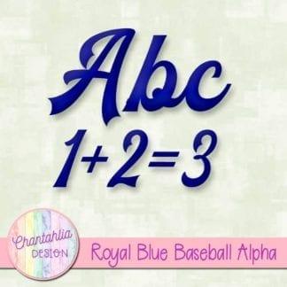 royal blue baseball alpha