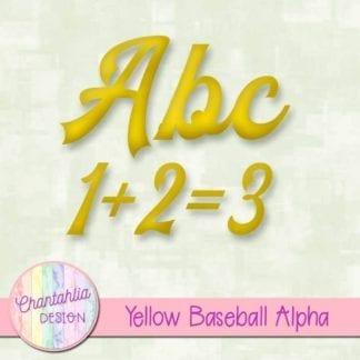 yellow baseball alpha