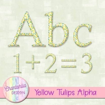 yellow tulips alpha