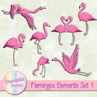 flamingos elements