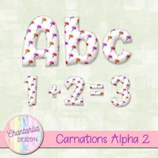 carnations alpha