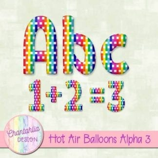 hot air balloons alpha