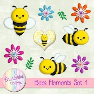 bees design elements