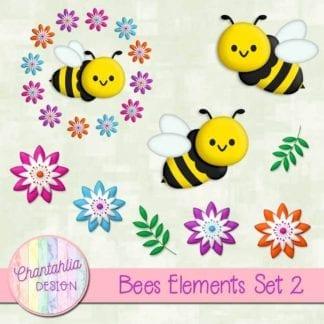 bees design elements