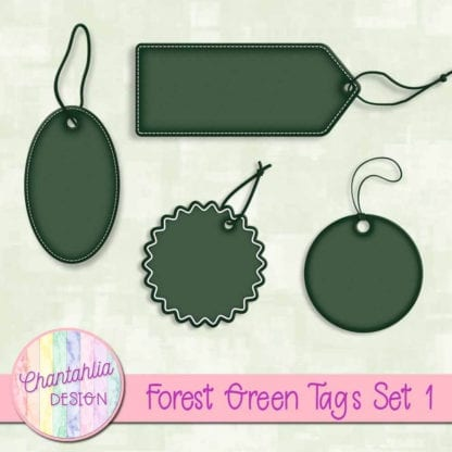 forest green tags