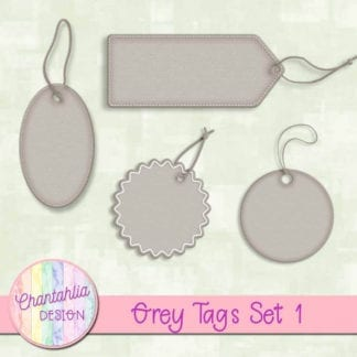 grey tags