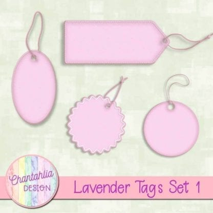 lavender tags