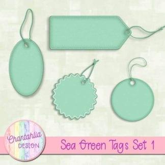 sea green tags
