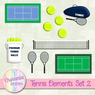 tennis elements