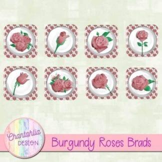 burgundy roses brads
