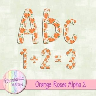 orange roses alpha