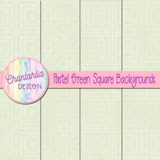 pastel green square backgrounds