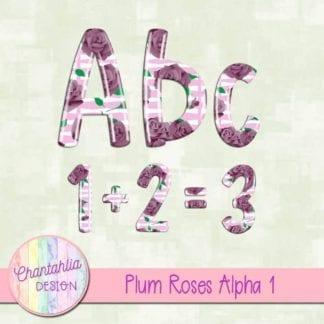 plum roses alpha