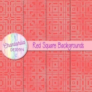 red square backgrounds