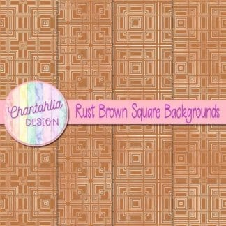rust brown square backgrounds