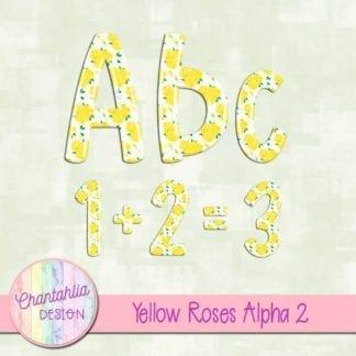 yellow roses alpha
