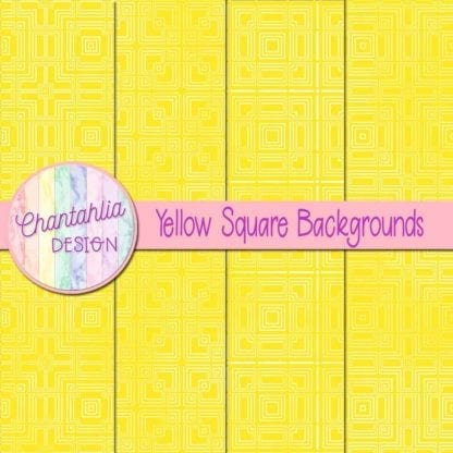 yellow square backgrounds