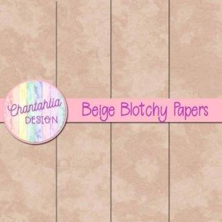 free beige blotchy digital papers