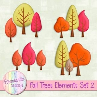 free fall trees design elements