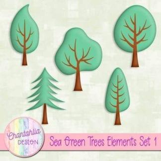 free tree design elements