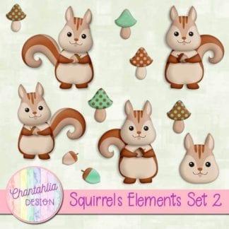 free squirrels elements