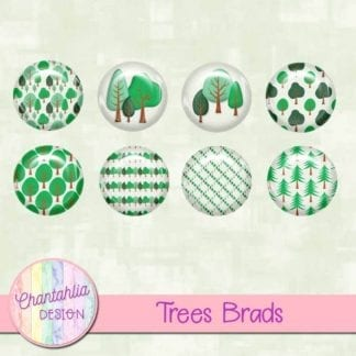 free digital brads featuring trees