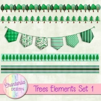 free trees design elements