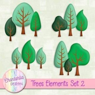 free trees design elements