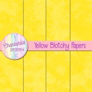 free yellow blotchy digital papers