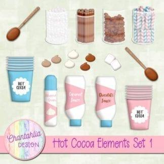 hot cocoa elements