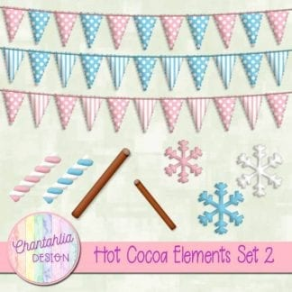 hot cocoa elements