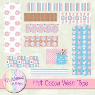 hot cocoa washi tape