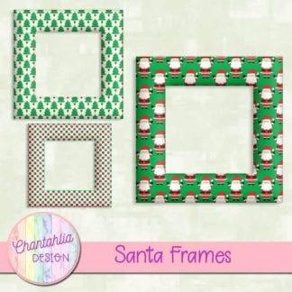 santa frames