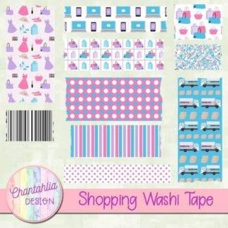 shopping washi tape