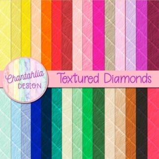 free digital papers with textured diamonds