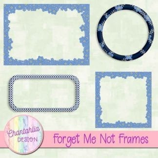 free forget me not digital frames