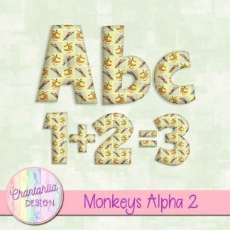 Free alpha in a Monkeys theme.