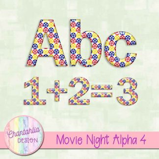free alpha in a movie night theme