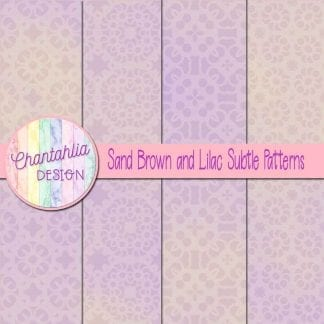 sand brown and lilac subtle patterns