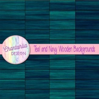 teal and navy wooden backgrounds